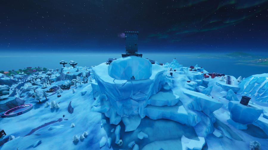 fortnite monster eye in polar peak