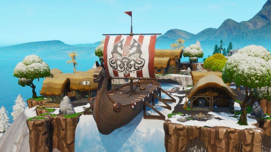 Fortnite Fortbyte 98 Viking Longhouse Location Pcgamesn