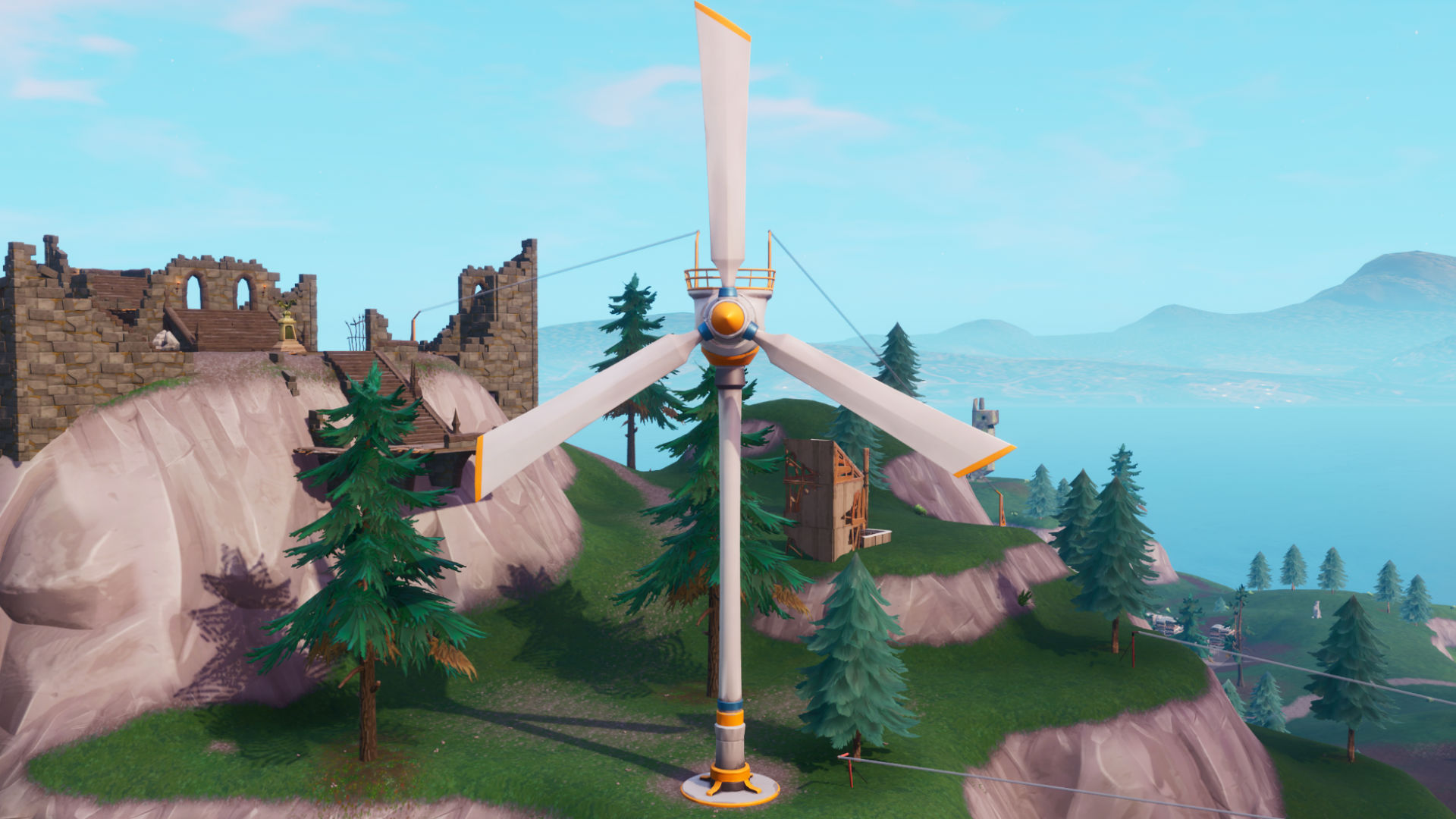 Fortnite Wind Turbines locations: where to visit different Wind Turbines in a single match