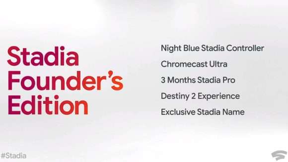 Google Stadia Founders Edition package