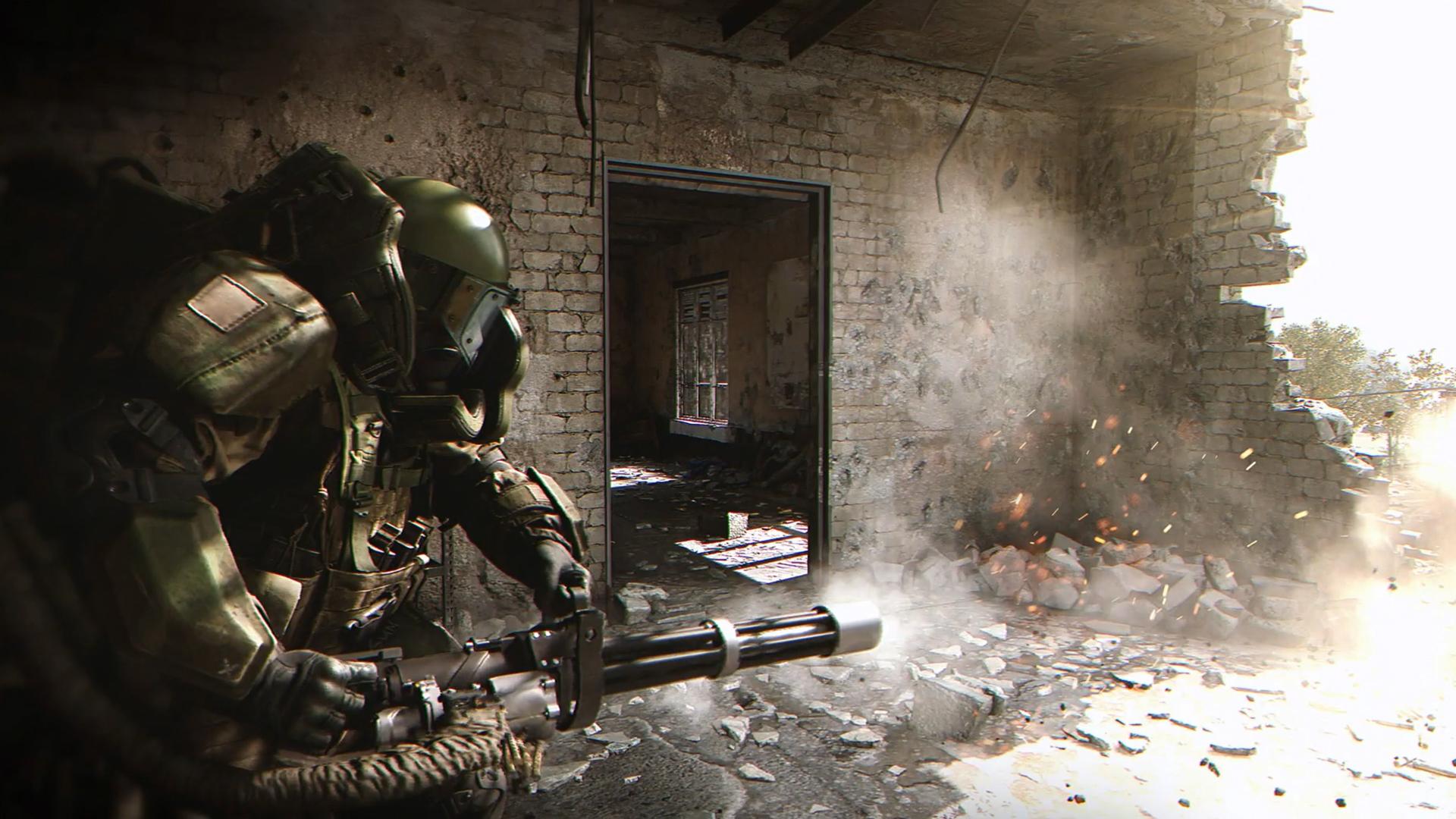 The Juggernaut Suit Is Back In Call Of Duty Modern Warfare Pcgamesn