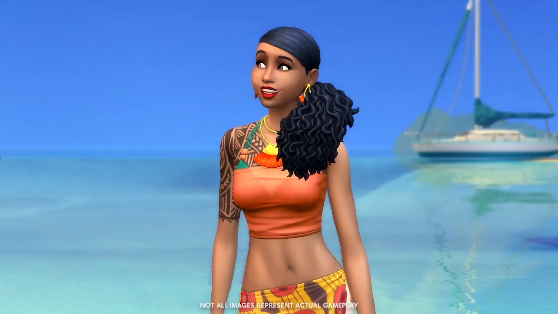 The Sims 4 Island Living takes your sims to the beach, where