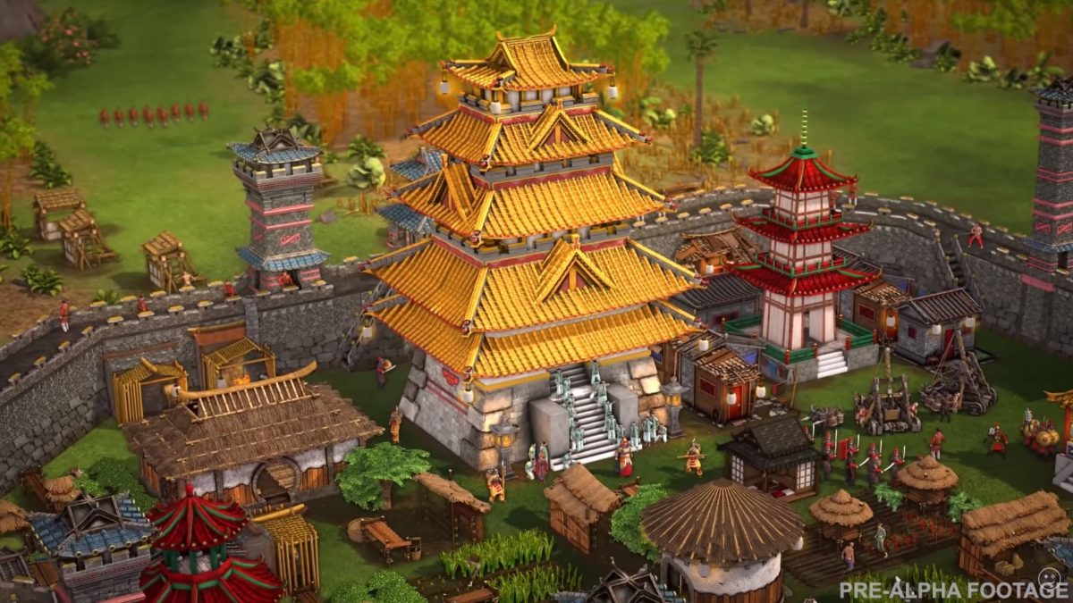Stronghold: Warlords takes the RTS series to Asia, and it's out next year