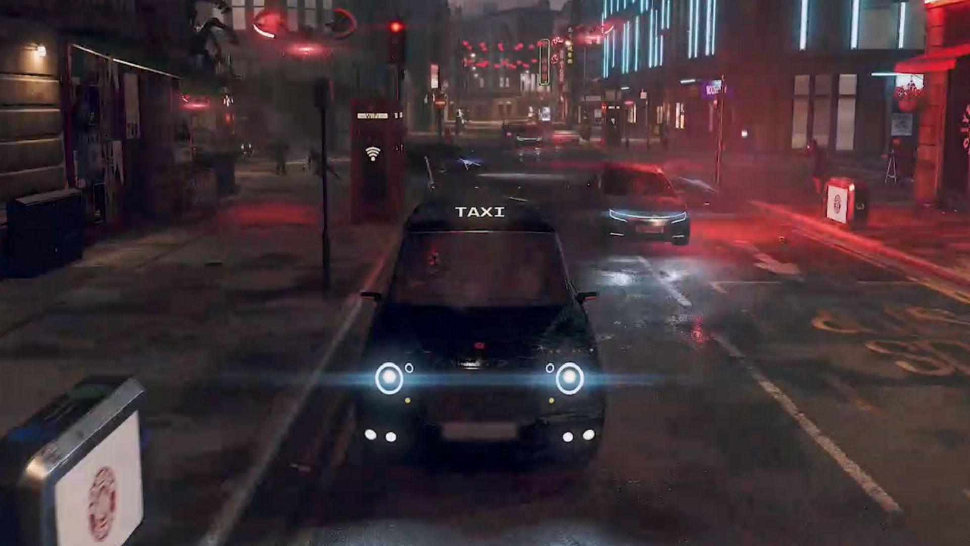 Hijack London Cabs In Watch Dogs Legion Pcgamesn