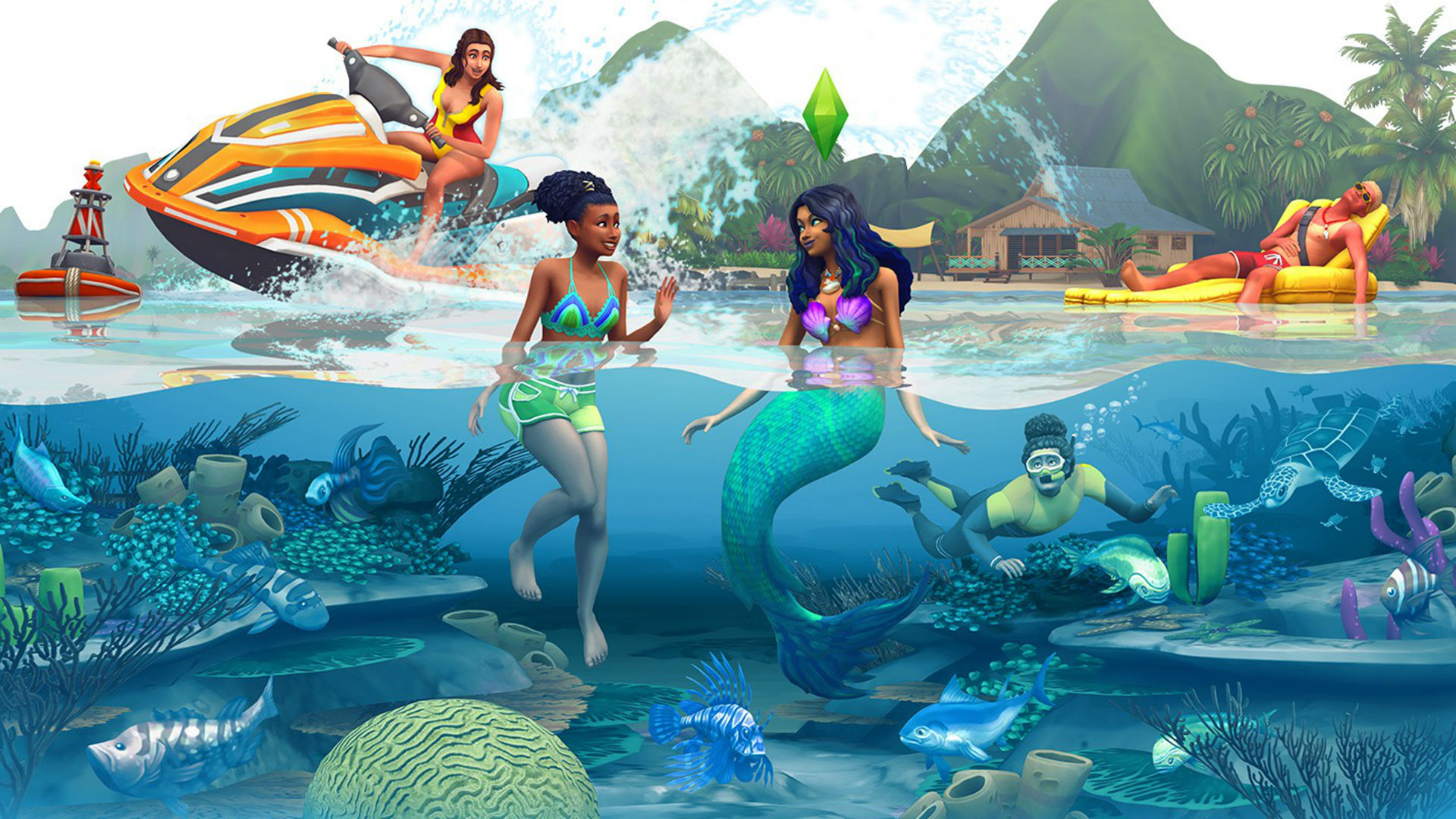 The Sims 4 Island Living lets you lecture litterbugs and ...