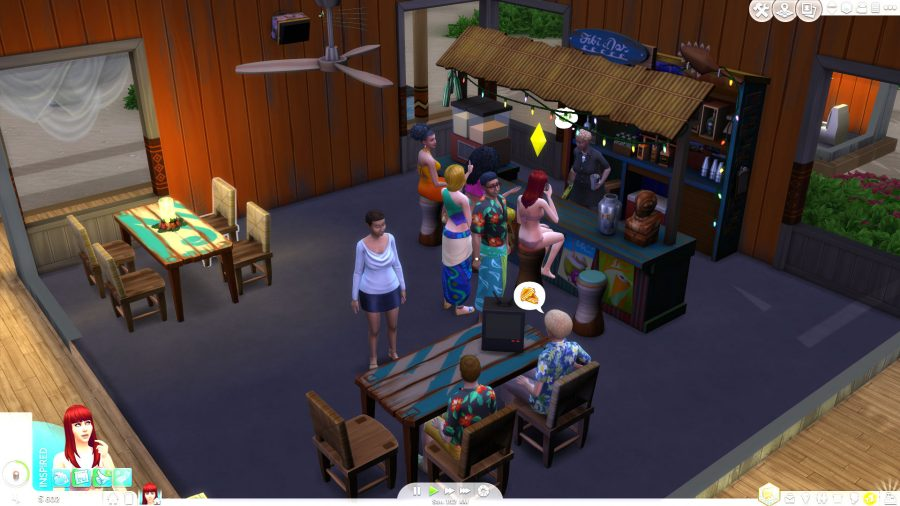 The Sims 4 Island Living lets you lecture litterbugs and pee