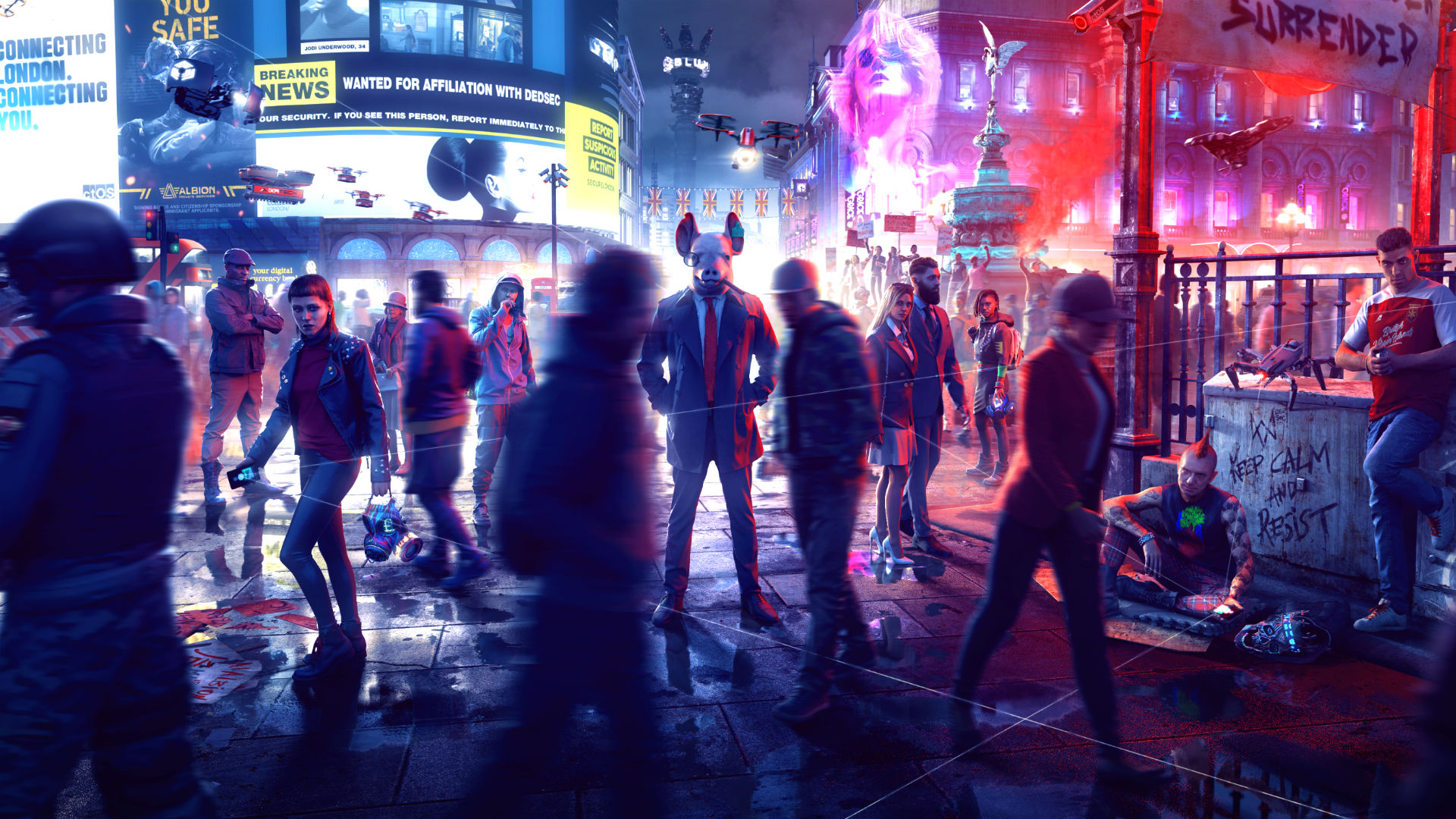 How Watch Dogs: Legion's quantum systems create a 'near infinite' number of scenarios