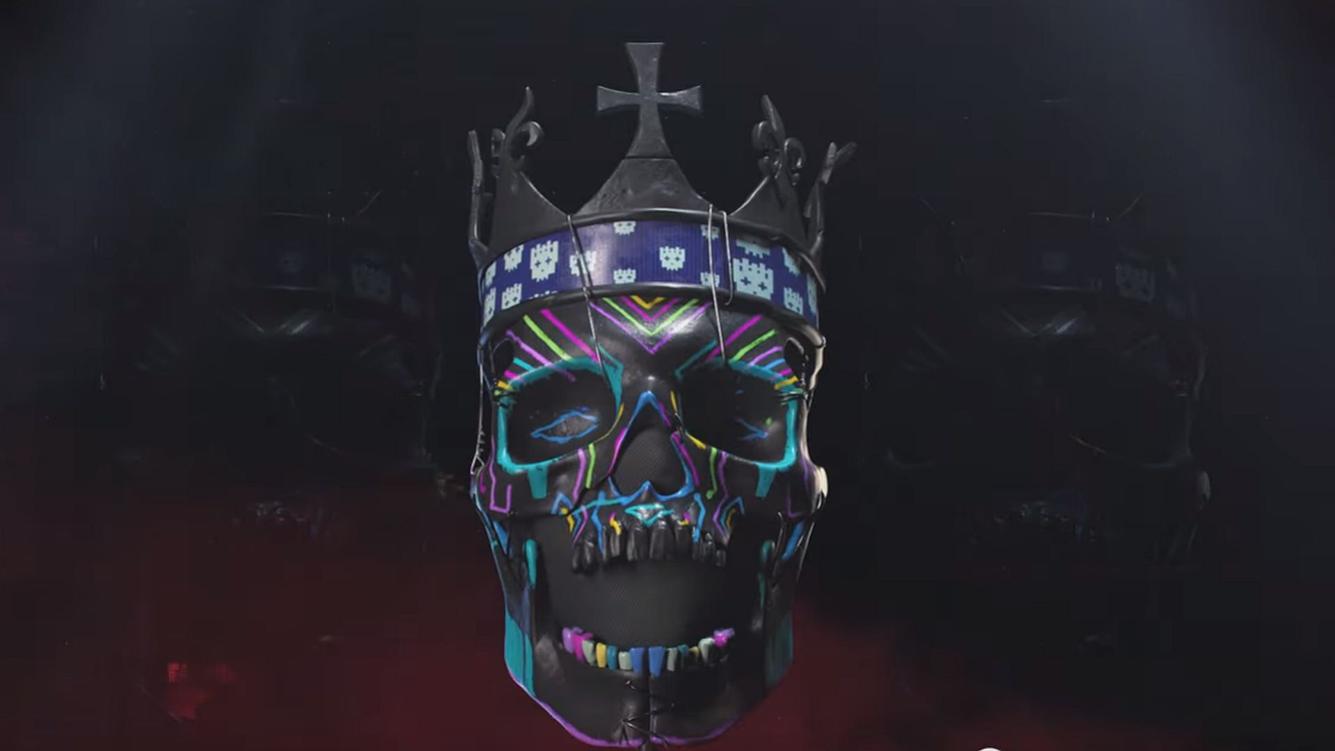 The Watch Dogs Legion Collector S Edition Has A Replica Skull Mask With An Led Crown Pcgamesn