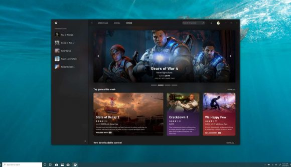 Xbox's new PC app has appeared on the Microsoft Store, and