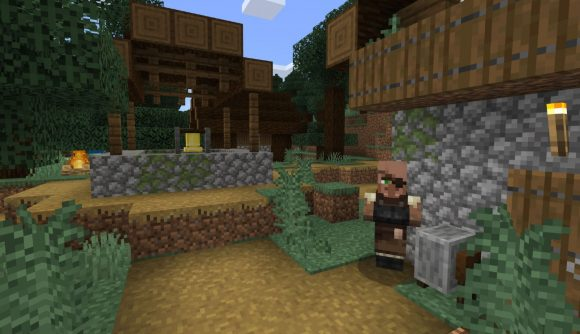 Minecraft pocket edition seeds, jungle village