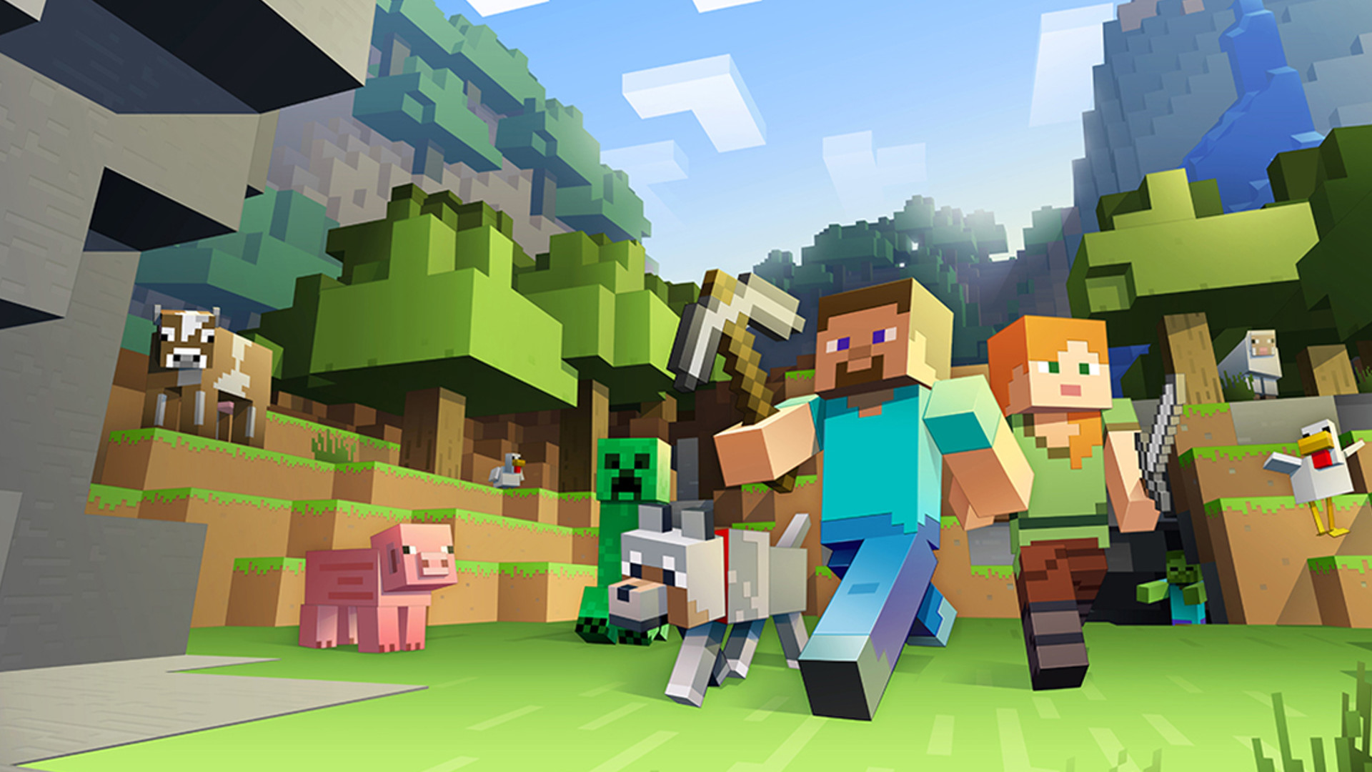 You can finally play Minecraft with your friends on PS8  PCGamesN