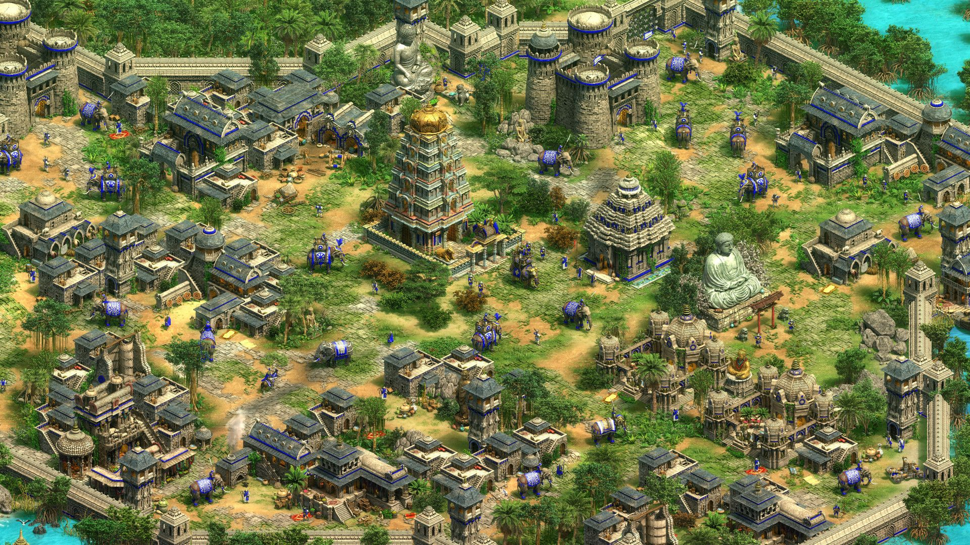 """The old and new in Age of Empires 2: Definitive Edition: """"we"""
