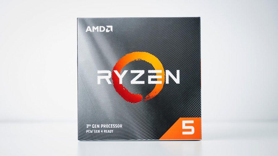 AMD Ryzen 5 3600X packaging