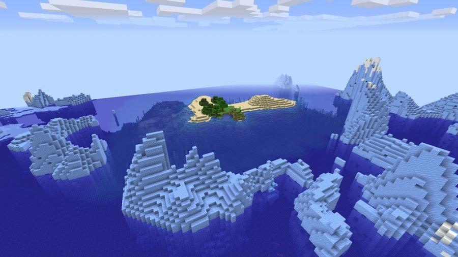 best minecraft seeds frozen islands