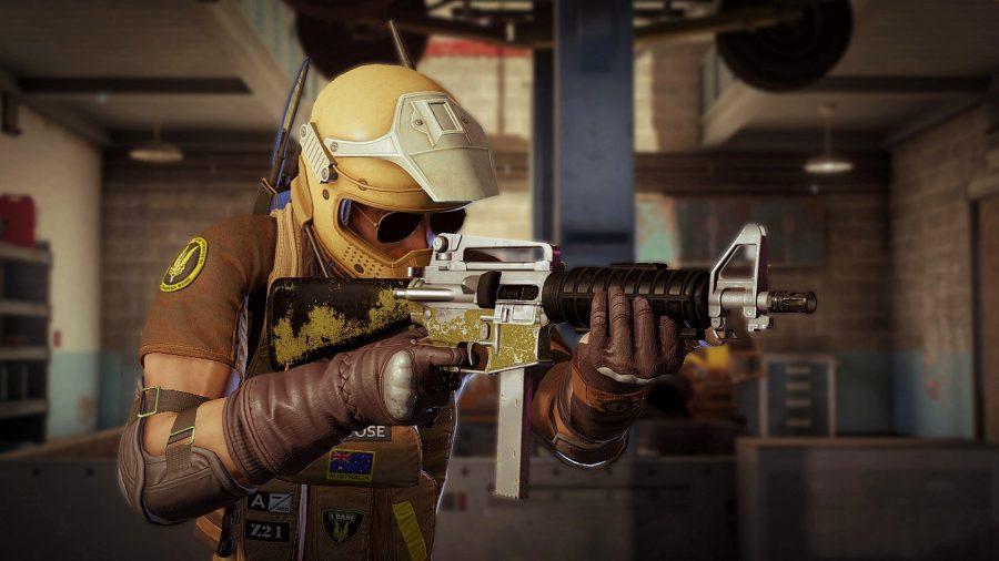 Mozzie - one of the best Rainbow Six Siege operators
