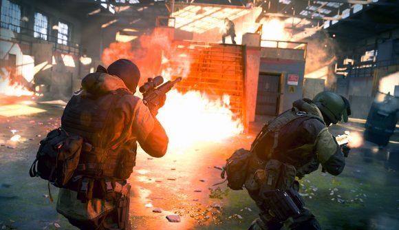 call of duty modern warfare gunfight gameplay