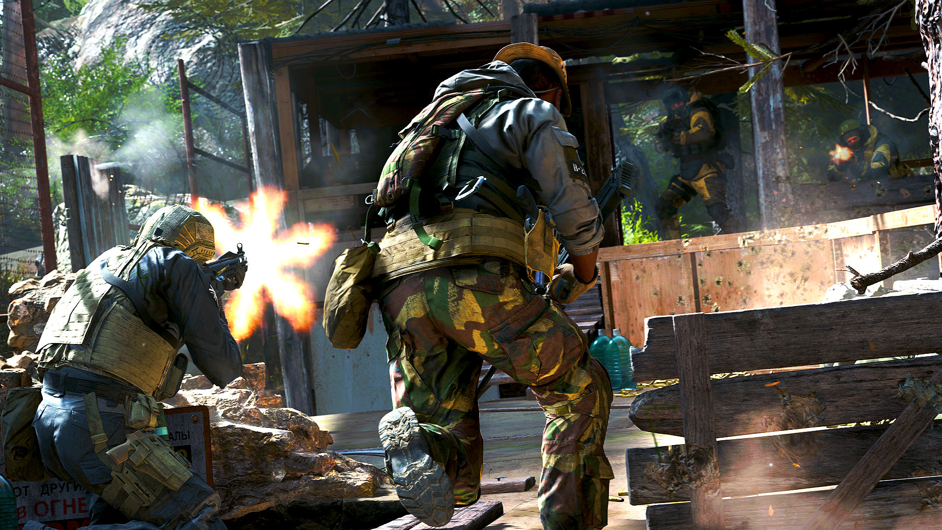 Call of Duty: Modern Warfare's Gunfight is my dream game