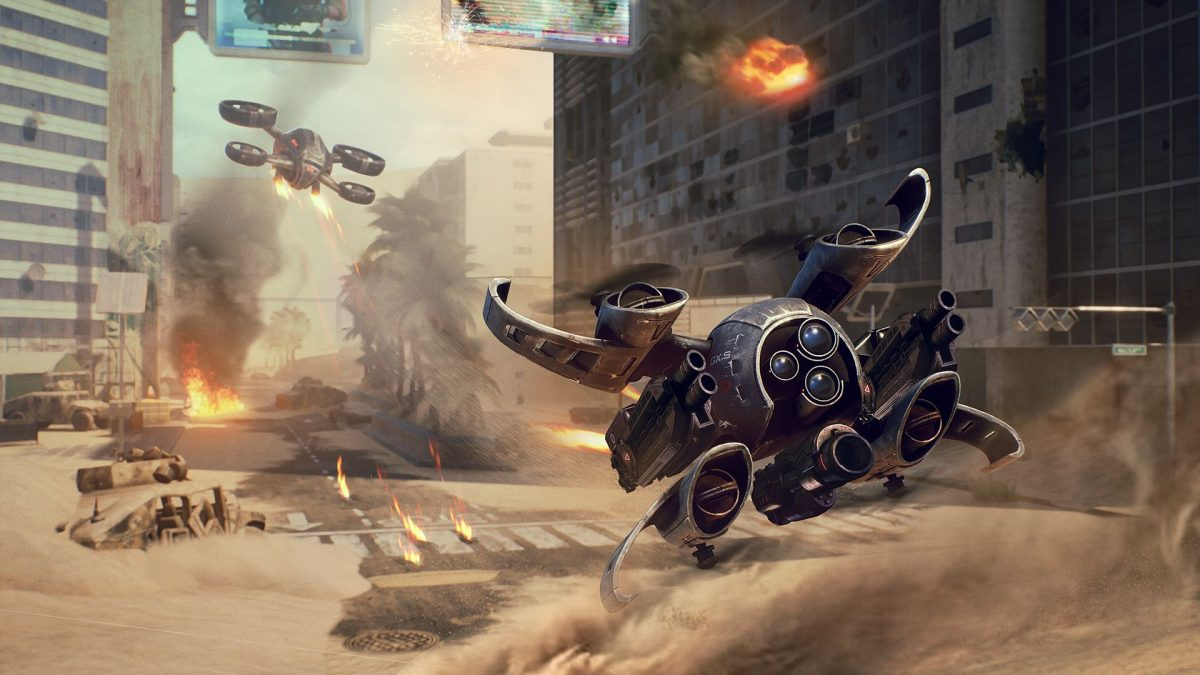 Making it in Unreal: how Drone Strike Force brings the Z axis to multiplayer shooters
