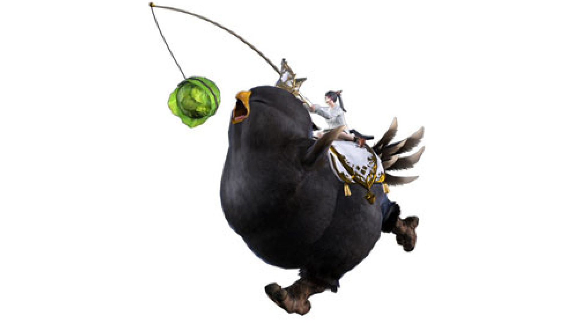 Final Fantasy XIV's Fat Black Chocobo is available again – through Twitch subs