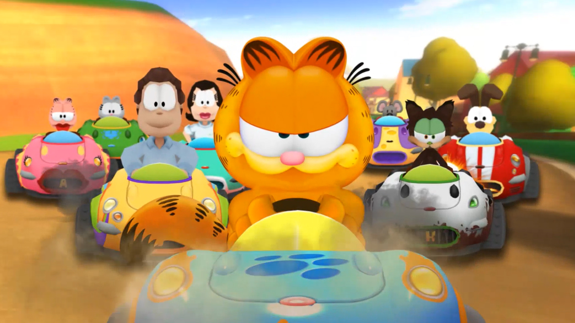 Death Stranding Won T Hit Pc This November But A New Garfield Kart Will Pcgamesn