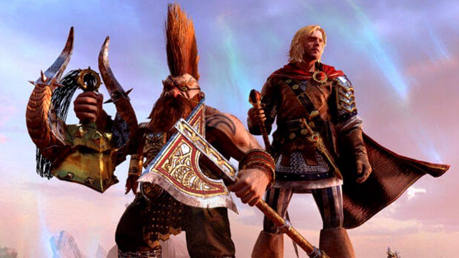 total war warhammer 2 gotrek felix free dlc