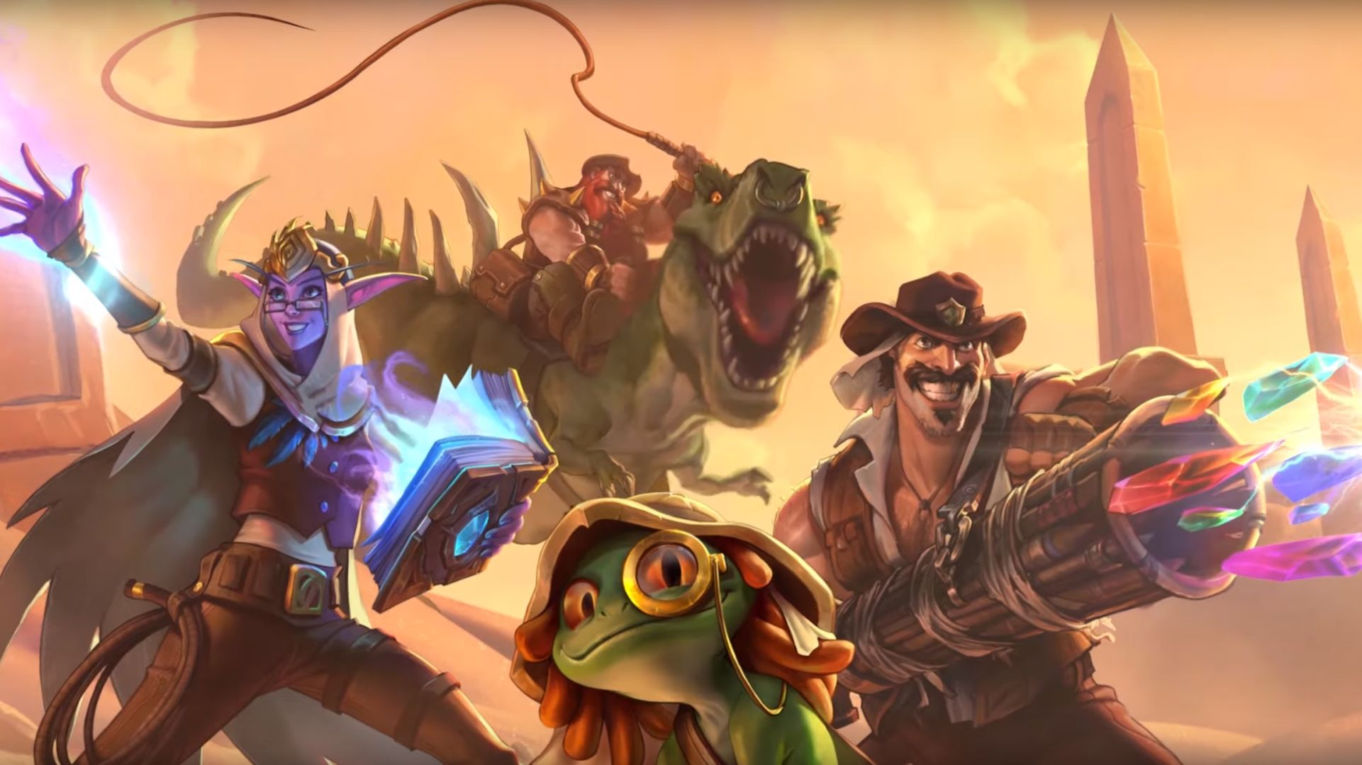 One of Hearthstone's new cards references Darude – Sandstorm