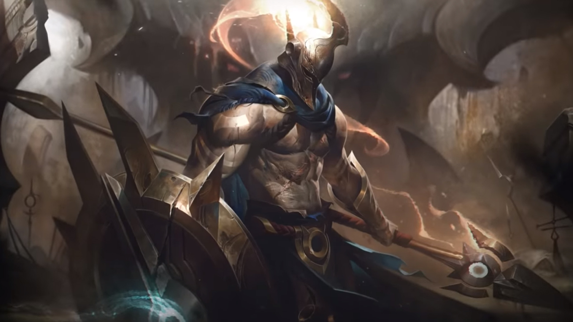 Here's your first look at League of Legends' Pantheon rework