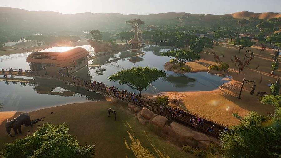 Management games, Planet Zoo