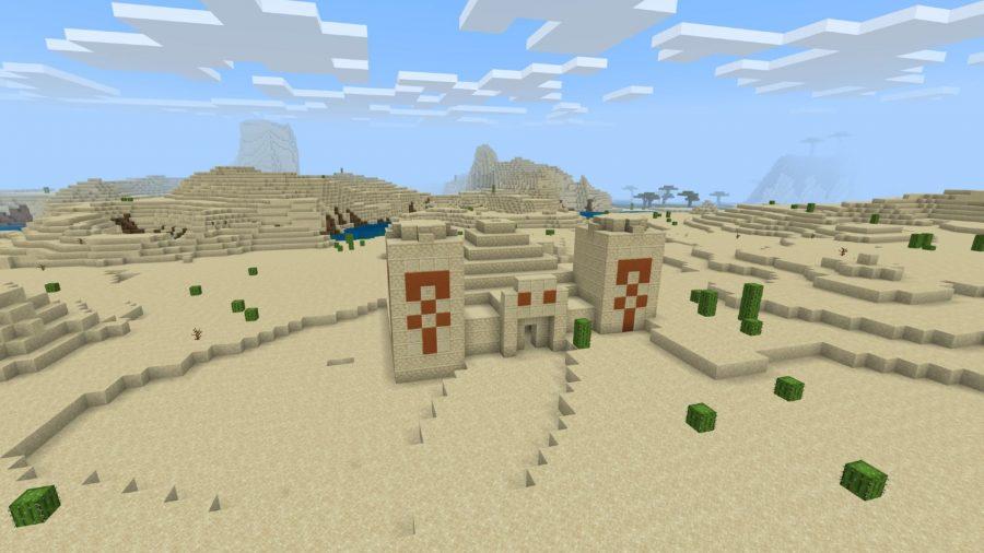Minecraft pe seeds, Desert temple loot