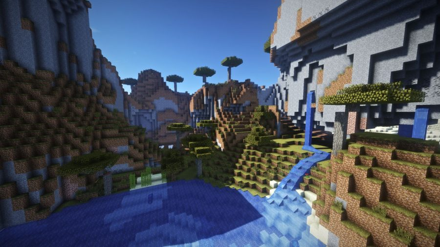 Too many effects minecraft shaders