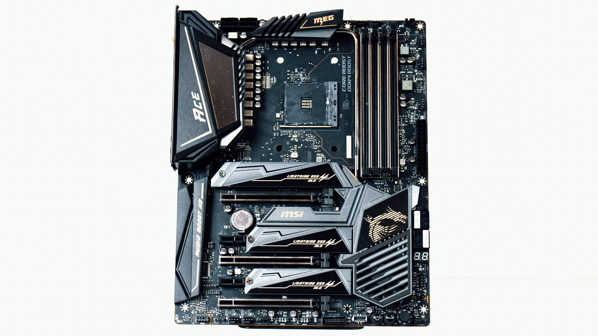 Msi Meg X570 Ace Review The Price Of Pcie 4 0 Pcgamesn