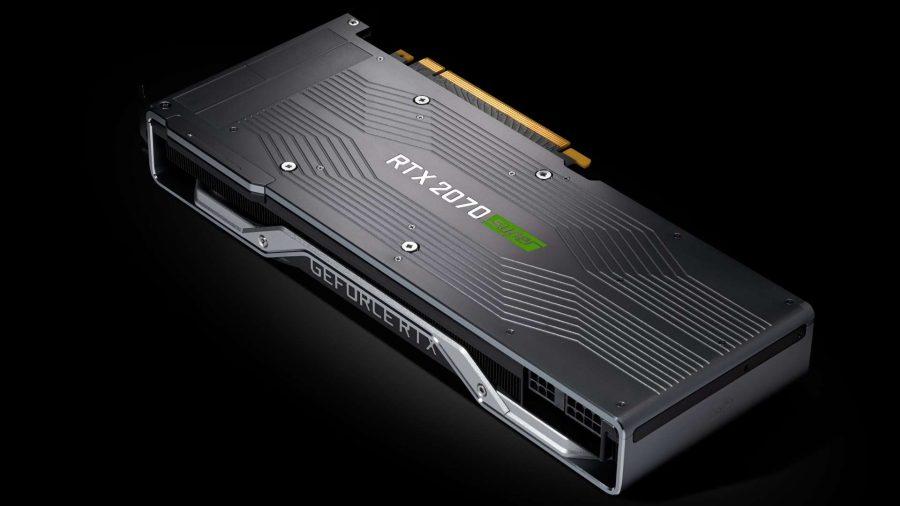 Nvidia RTX 2070 Super backplate