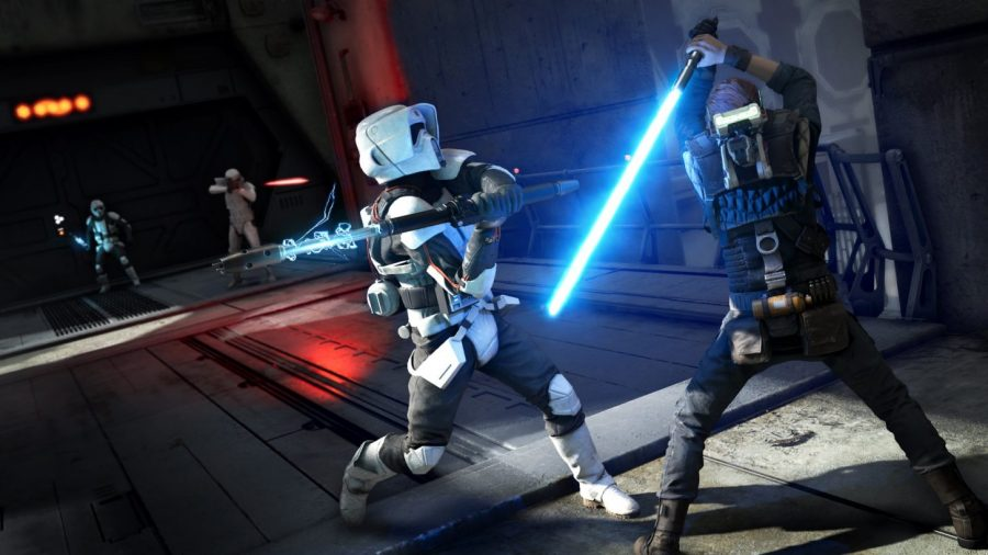 Star Wars Jedi: Fallen Order, light saber fight