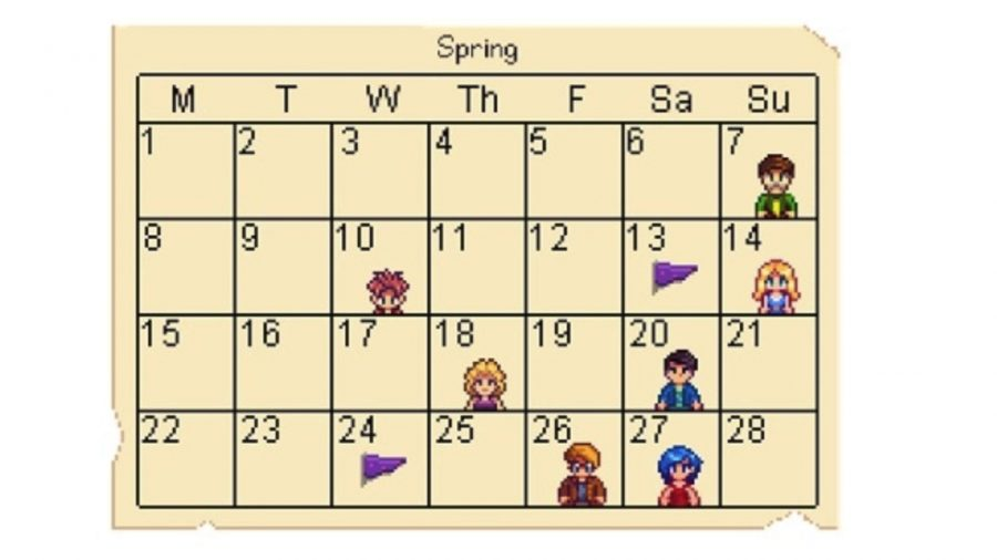 Stardew Calendar.The Best Stardew Valley Mods Pcgamesn