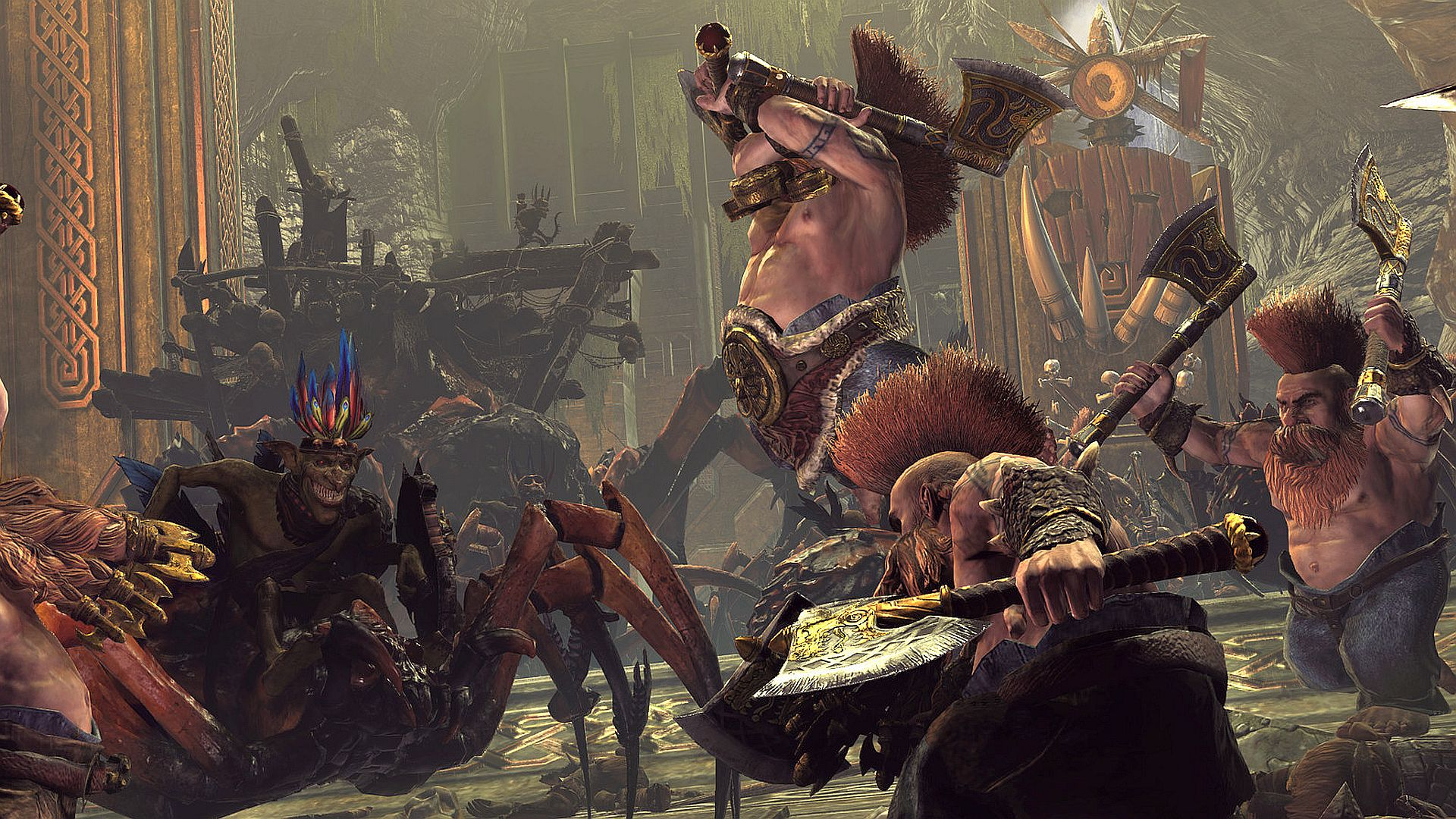 """Total War: Warhammer 2's free DLC array teases """"old friends"""