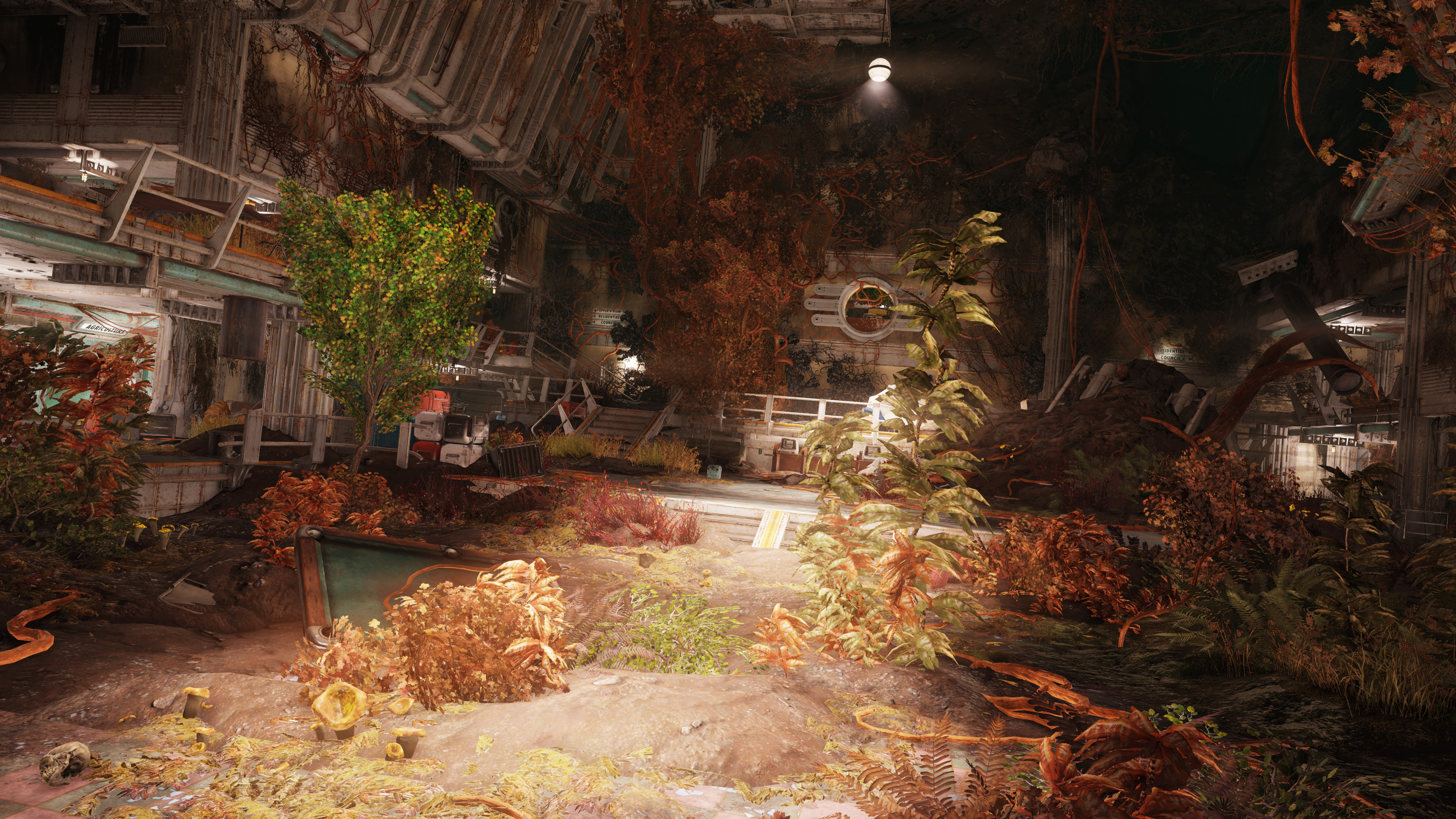 Fallout 76's first multiplayer raid, Vault 94, is full of horrible plants