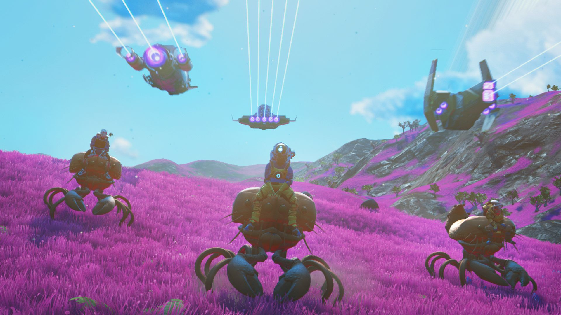 Beyond lets you turn No Man's Sky into Satisfactory, Stardew Valley, and even Rocket League