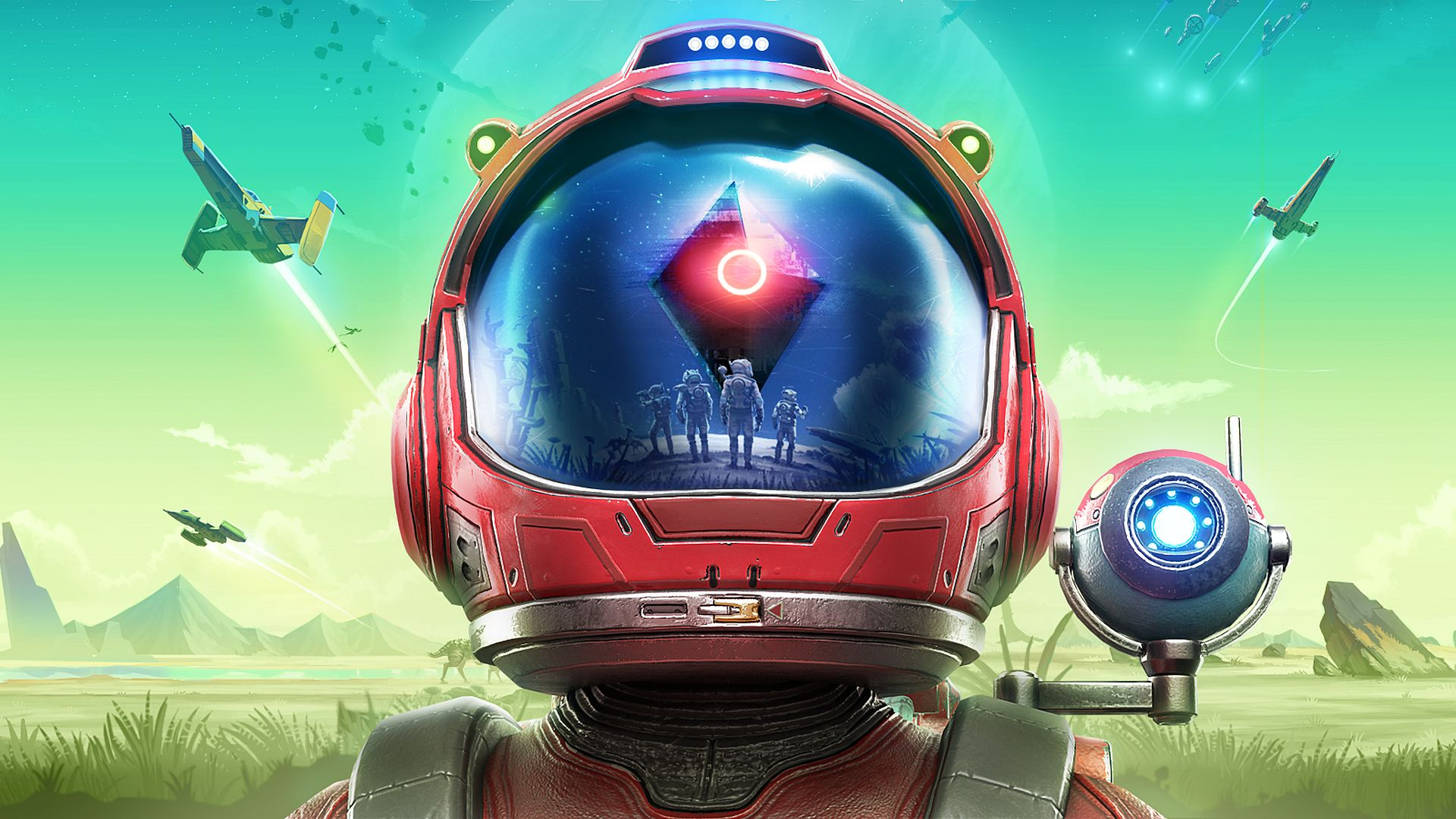 "No Man's Sky: Beyond adds VR, a little Star Wars, and ""a lot of multiplayer"""