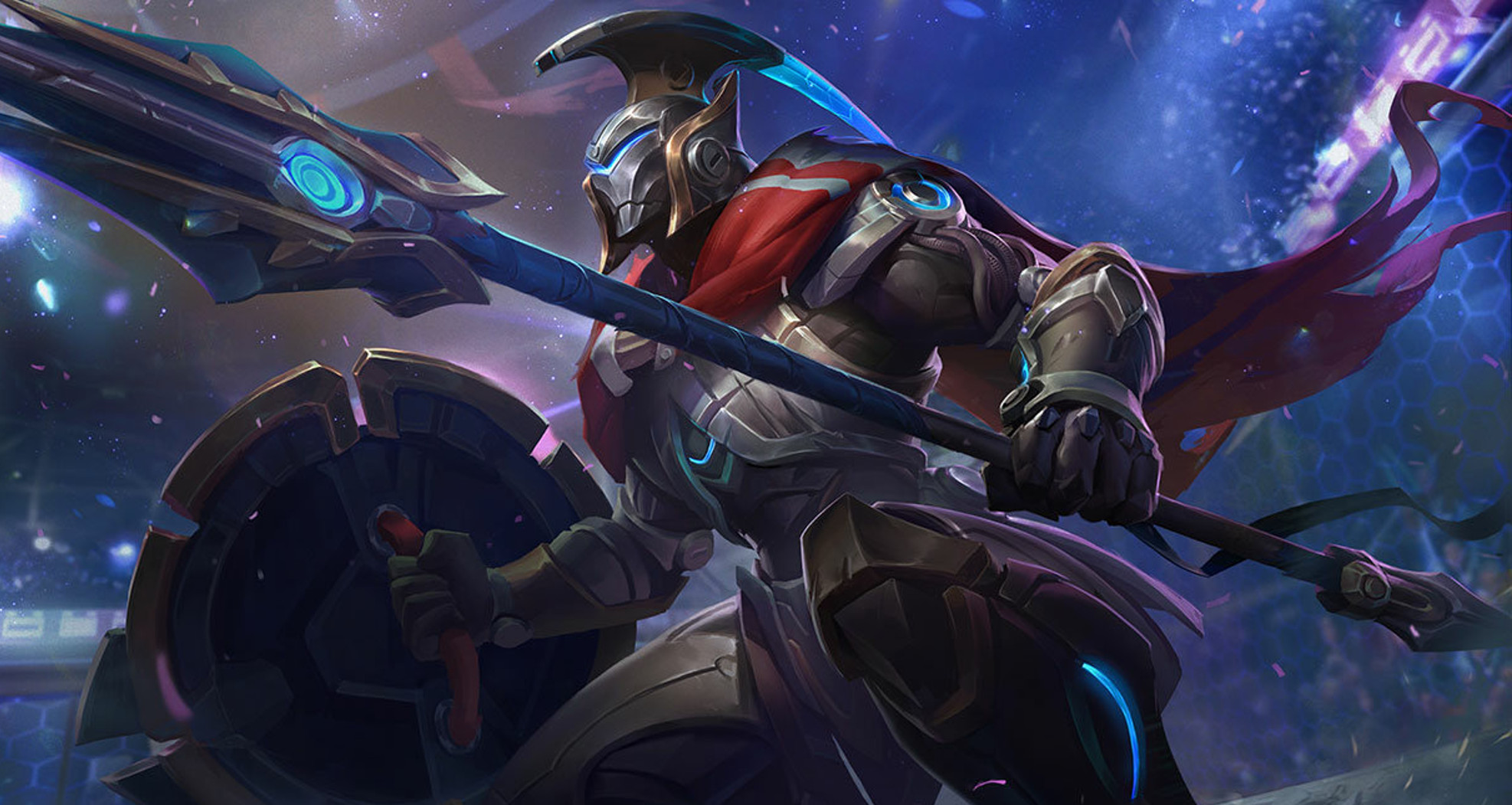 League of Legends champion Pantheon to get Jungle micropatch tonight