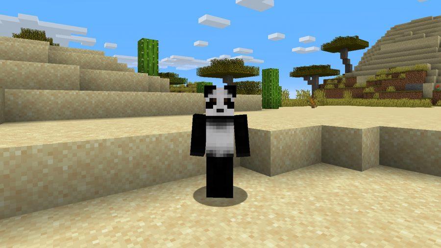 Best Minecraft skins panda
