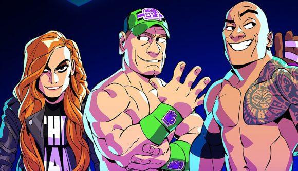 John Cena, Becky Lynch, and more WWE stars join Smash Bros-like