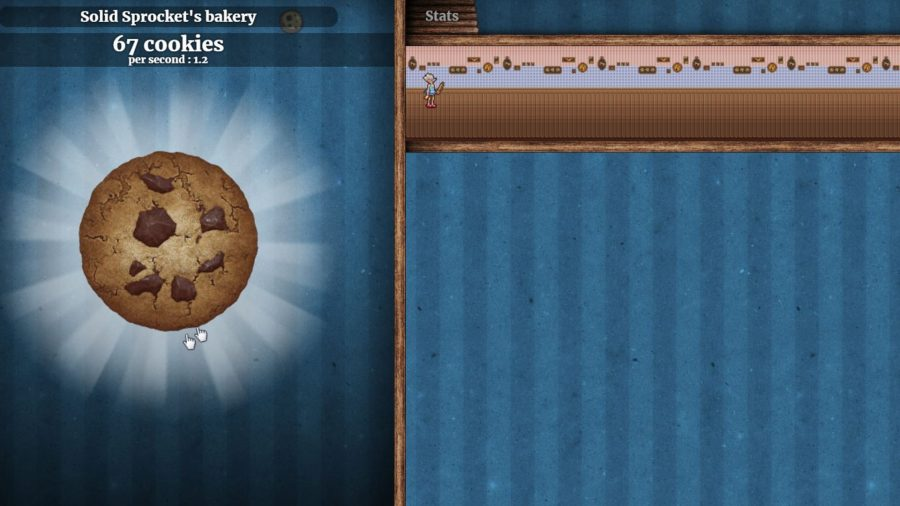 Baking games, clicker cookie cooking game