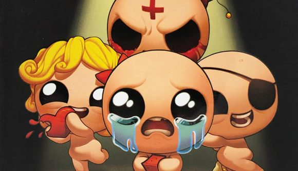 The Binding of Isaac card game spinoff is now available at Target