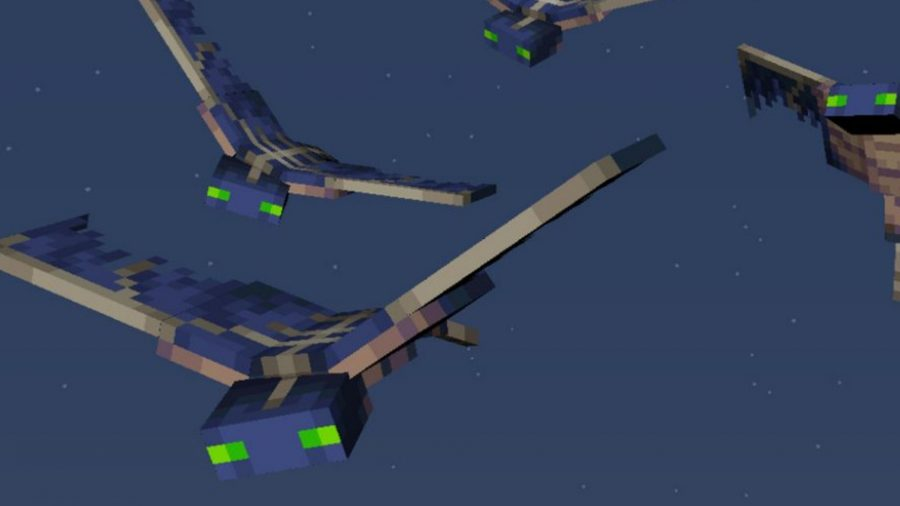 minecraft hostile mobs phantom