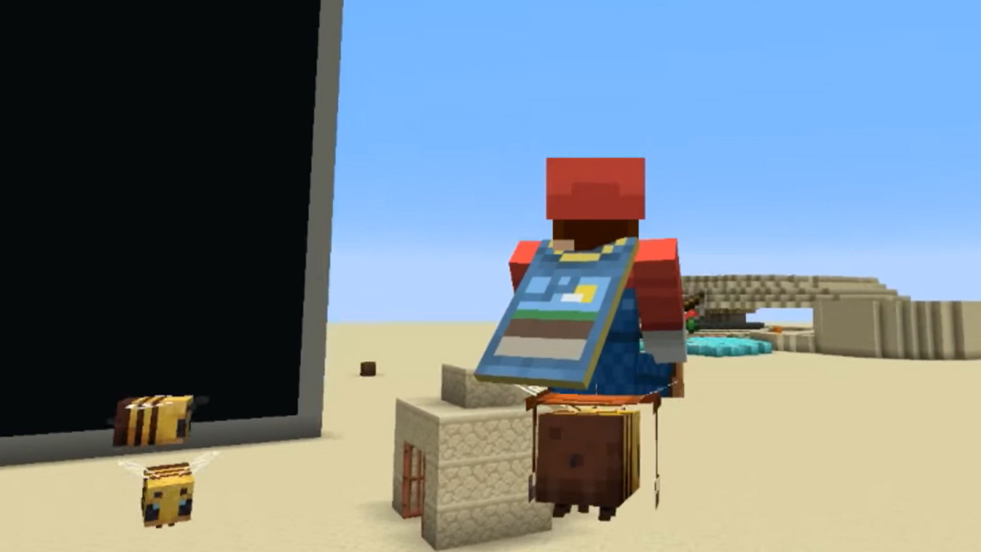 This Minecraft Mod Lets You Ride Bees Pcgamesn