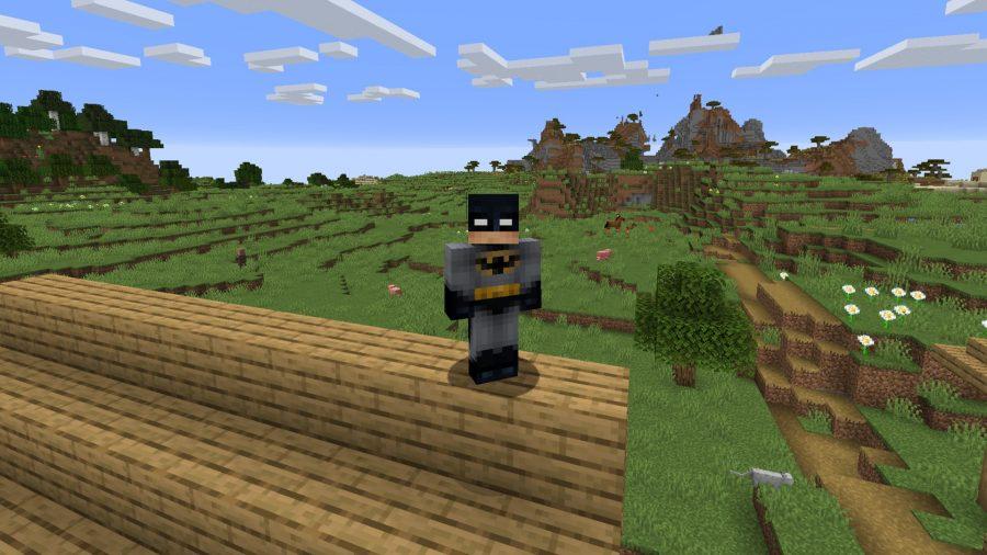 Minecraft skins Batman