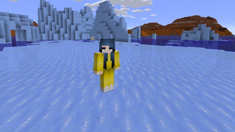 Minecraft skins Billie Eilish