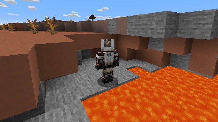 Minecraft skins Glados