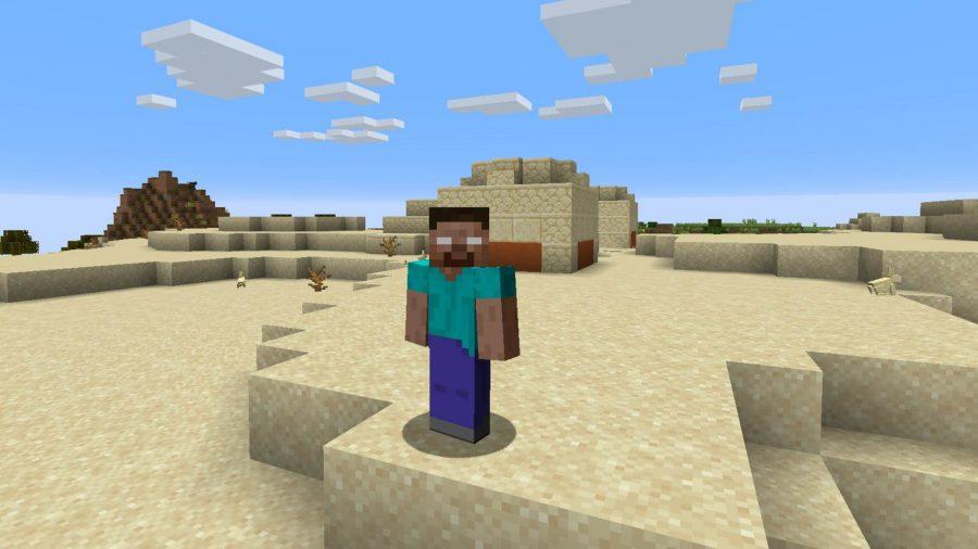 Minecraft skins Herobrine