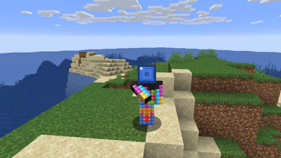 Minecraft skins Tetris